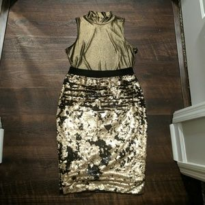 Glittery Holiday Outfit